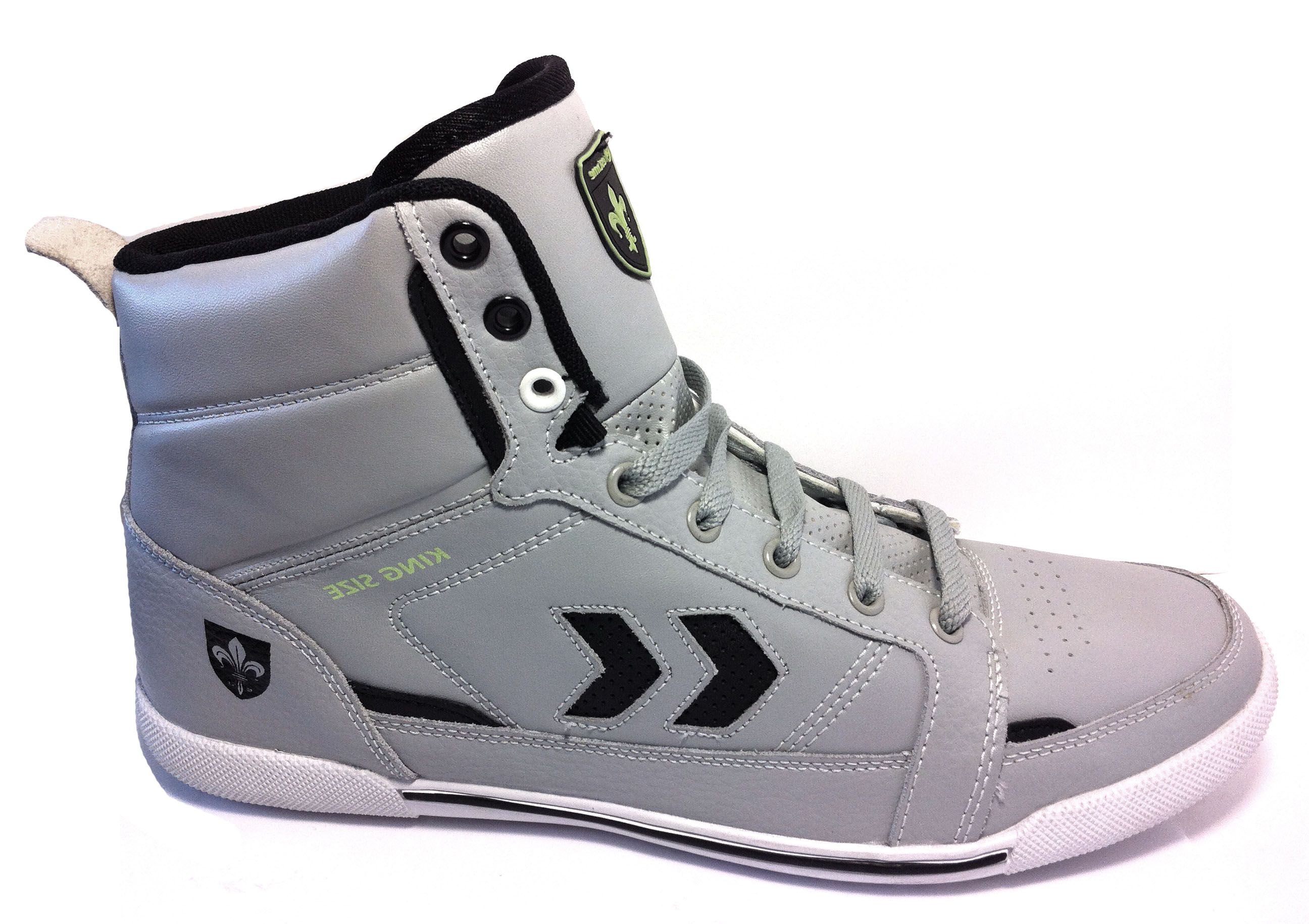 PMP37-F_GREY_BLACK_ GREEN шуз высокий_42-46