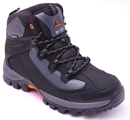 PMZ13470 (13460) COMFORNS BLACK_GREY_ботинки_41-45